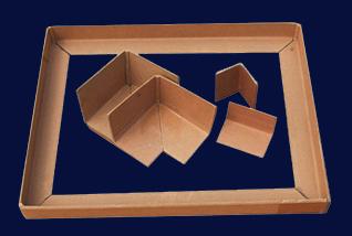 纸护角成型